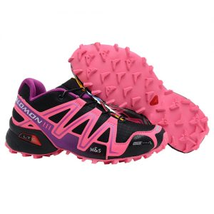 Giay chay Salomon Speed Cross 3 - Pink